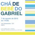convite de cha de bebe 150x150 Convite de Chá de Bebê   Modelos