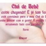 modelos de convites de cha de bebe 150x150 Convite de Chá de Bebê   Modelos